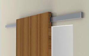 Binario divina scorrevole alluminio per porta in legno da for Porta scorrevole esterna ikea