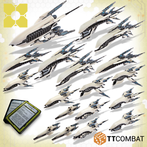 Dropfleet comandante Nuevo Y En Caja PHR batalla flota ttdfx-PHR-004
