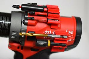 Milwaukee M12 Fuel Drill Driver Bit Holder Mount 1//4 3//8 1//2