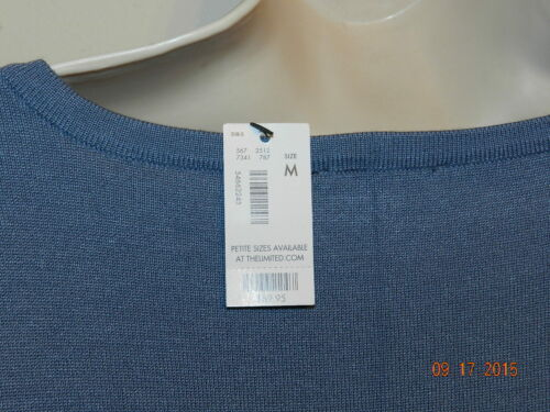 Med al Dusty 69 Limited dettaglio Sz Blue Sweater with The 95 Lace m NWT Zagq178nw