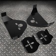 4pcs Steel Weld On Rear Upper Lower Suspension Air Bag Mounting Brackets Kit