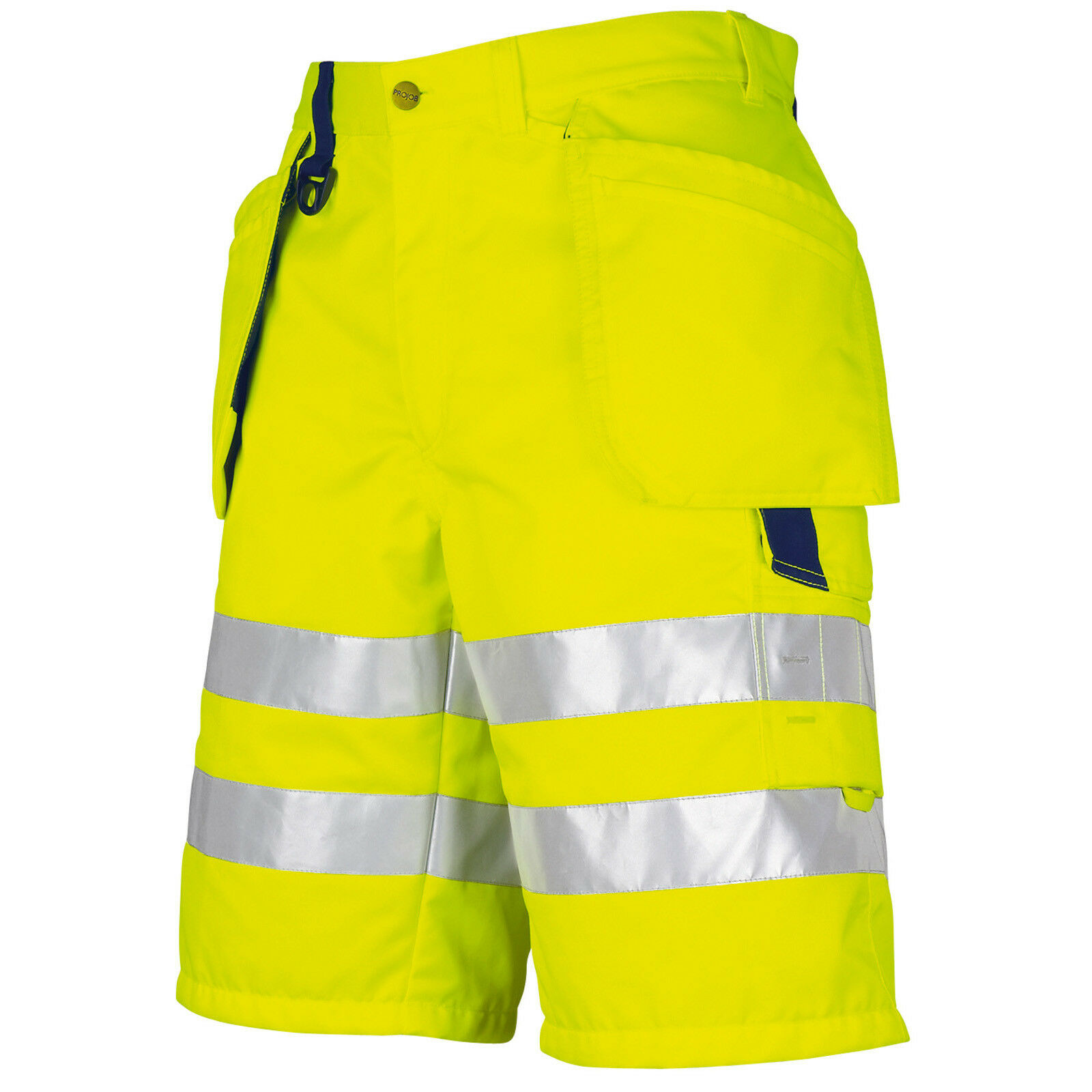 Prossob Prossob Prossob Hi Vis Work Shorts with Holster Pockets. Class 2 - 646503 74e20a