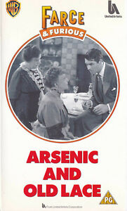 ARSENIC-AND-OLD-LACE-Cary-Grant-VIDEO-VHS-Pal-SirH70