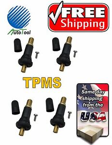 TPMS-Rubber-Valve-TR20008-Set-of-4-FORD-CHRYSLER-JEEP-CADILLAC
