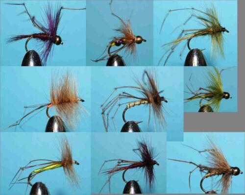 033 20 Daddy Long Legs-selezione a mano legato Mosche Fly pesca alla trota