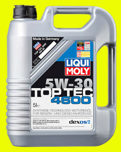 LIQUI MOLY Motoröl Top Tec 4600, 5W-30, 5-Liter Kanister - Art.Nr. 3756