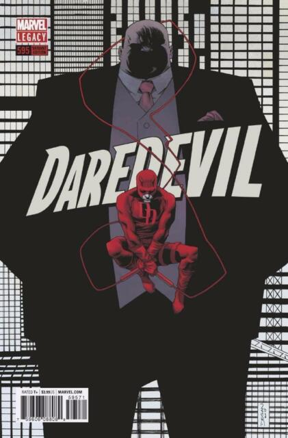 DAREDEVIL #595 KINGPIN VARIANT 1:25 MAYOR FISK NM MARVEL COMICS
