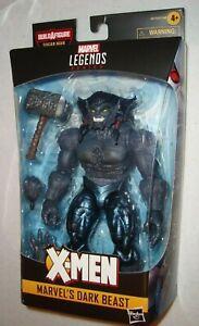 """SHIPS LOOSE NO BAF X-Men Age of Apocalypse Marvel Legends 6/"""" Dark Beast"""