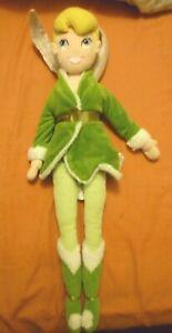 "Tinkerbell Disney Plush Toy Cuddly toy genuine Disney Store Tinkerbell 22"""