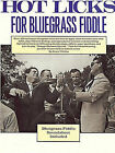 Hot Licks for Bluegrass Fiddle by Stacy Phillips (Mixed media product, 1992)