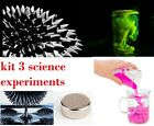 Science Kit Experiments Toy Chemistry Set Ferrofluid Magic Sand Fluorescein