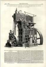 1891 Central Argentine Railway Triple Expansion Engine Maxim Flying Machine