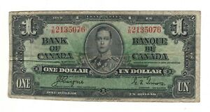 Canada-1937-1-Bank-of-Canada-Banknote-T-N