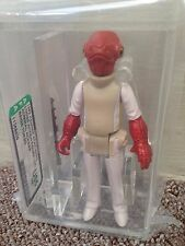Star Wars Vintage AFA U85 ADMIRAL ACKBAR !!