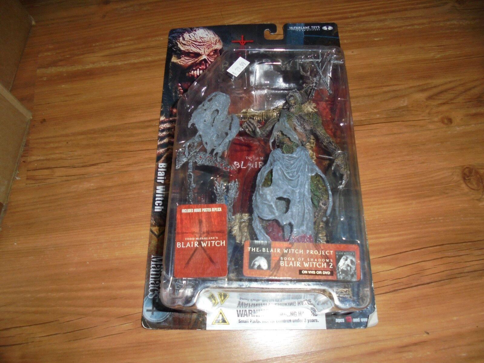 BLAIR BLAIR BLAIR WITCH Todd McFarlane's Movie Maniacs 4 (FFF) McFarlane 2001 d1c85c