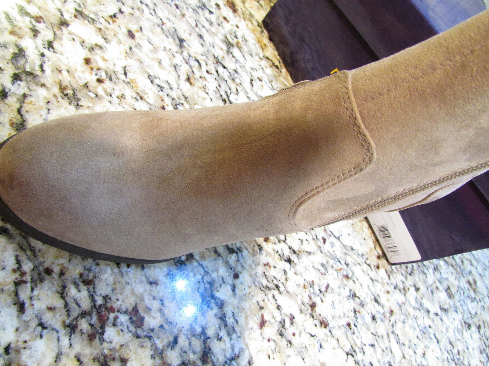 NEU MADDEN GIRL DESCENT TAUPE ANKLE BOOTES BOOTS Damenschuhe 7.5 W/ FRINGE FREE SHIP