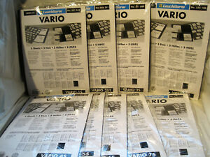 Leuchtturm-VARIO-S-Huellen-5er-Packung-schwarz-zur-Auswahl