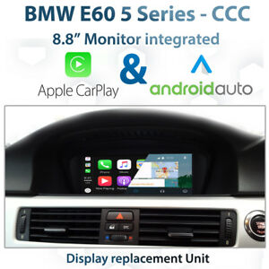 BMW-E60-CCC-iDrive-8-8-034-Touch-CarPlay-Android-auto-Display-replacement-unit