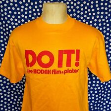 Vintage 1980's Kodak Film and Plates t-shirt photographer photography camera