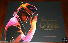 Michael Jackson Show Las Vegas Program NEW Book Music Album Neverland Ranch