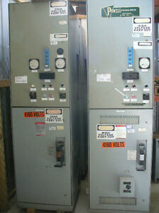 5kv ge 400 amp vacuum limitamp motor starter cr194 for Ge motors industrial systems