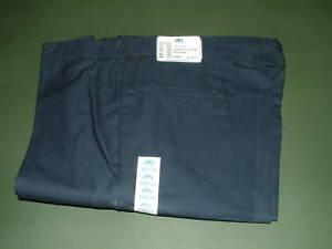 US-NAVY-WORK-PANTS-BLUE-UTILITY-SLACKS-MEN-039-S-40-inch-waist
