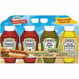 Heinz Picnic Pack, 4-count