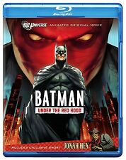BATMAN : UNDER THE RED HOOD animated  -  Blu Ray - Sealed Region free