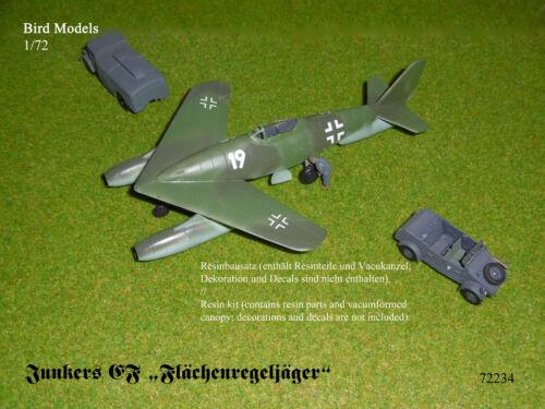 """Junkers EF """"Flächenregeljäger""""      1/72 Bird Models Resinbausatz / resin kit"""