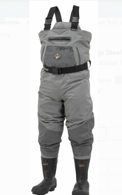 Frogg Toggs Steelheader Cleated Bootfoot Chest Wader SIZE 10 - Insulated