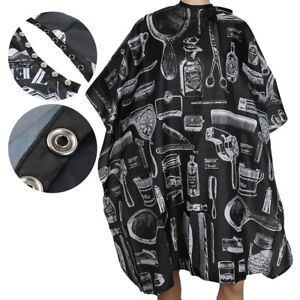 Waterproof-Hair-Cutting-Cape-Salon-Haircut-Hairdressing-Gown-Apron-Barber-Cloth