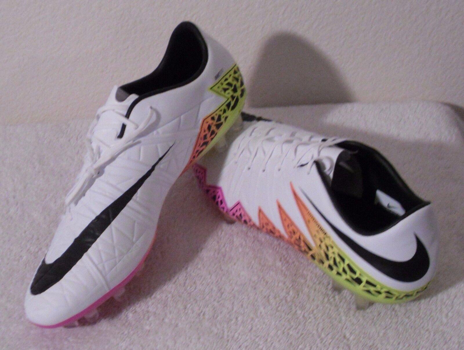 Nuevo Nike Hypervenom phinnish FG Hombre Botines De Fútbol 11.5 blancoo Naranja total  200