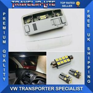 Para-VW-T5-T5-1-T6-Unidad-De-Mapa-Interior-Luz-de-Lectura-LED-Bombillas-De-Actualizacion-Nuevo-amp
