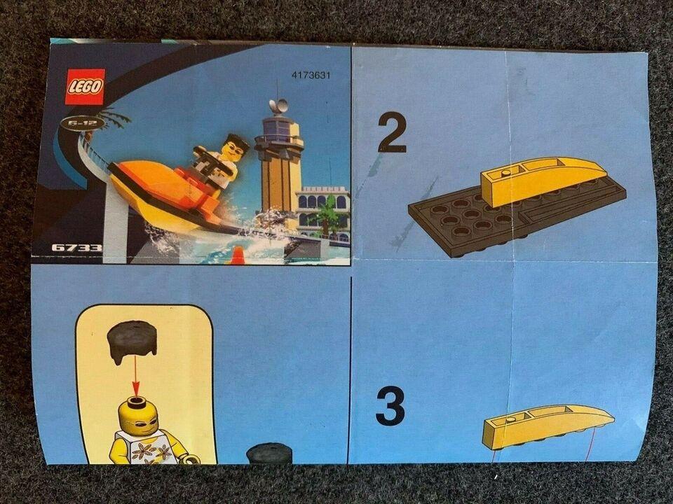 Lego andet, 6732, 6733 og 6734 Island Xtreme stunts