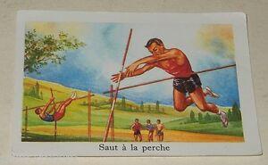 Ancienne-Image-du-type-Bon-Point-SAUT-a-la-PERCHE-Sport-EDITIONS-EDUCATIVES