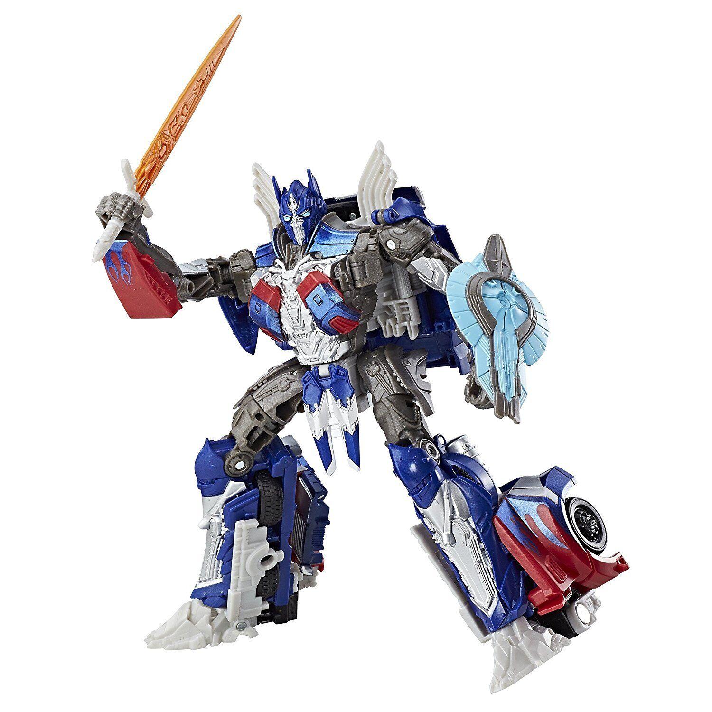 Transformers le dernier chevalier PREMIER EDITION  Voyager Class Optimus Prime ACTION  bonne réputation