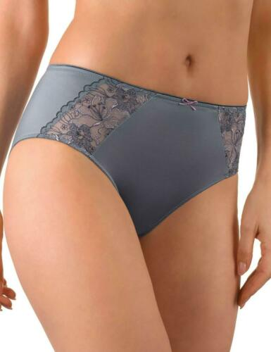 Conturelle by Felina Wild Lily Brief Knickers 813871 New Lingerie Smokey Blue