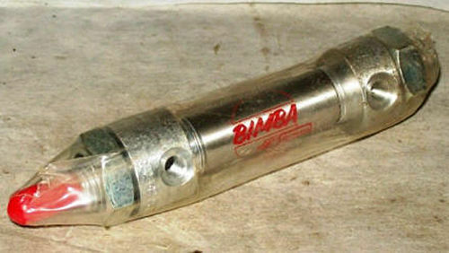 Bimba 7//16 x 1//2 Stainless Steel Air Cylinder 010.5-DX
