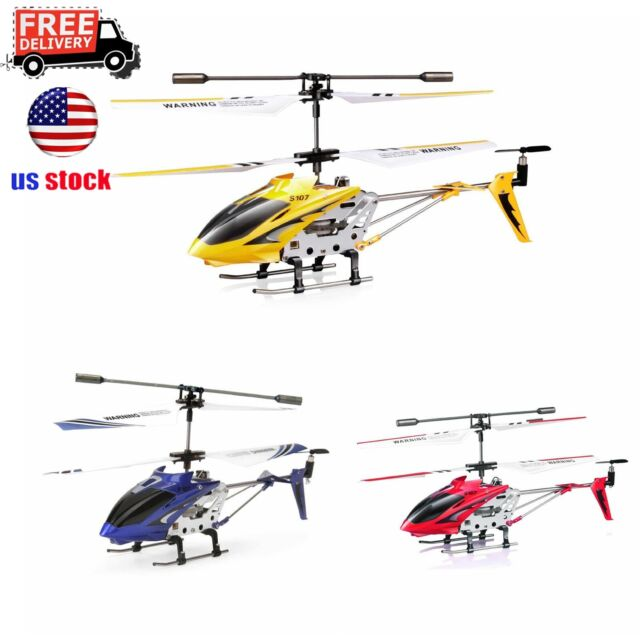 Syma S107/S107G 3-Channel 3 5CH Mini Remote Control RC Helicopter Gyro