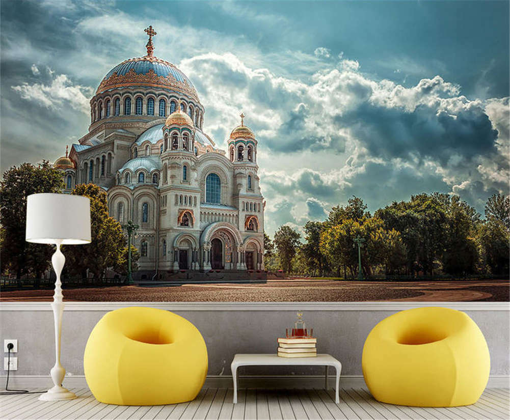 Bright Peculiar Sky 3D Full Wall Mural Photo Wallpaper Printing Home Kids Decor