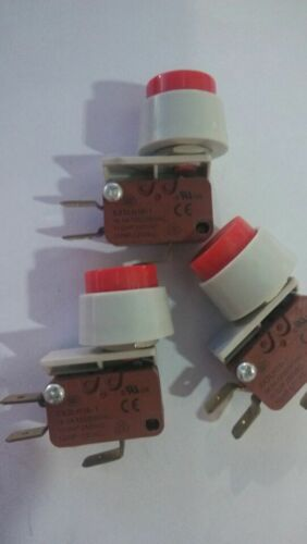 Red Push Button Momentary SPDT 1NO 1NC Miniature Micro Switch
