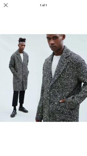 Mennace Relaxed Crombie Coat