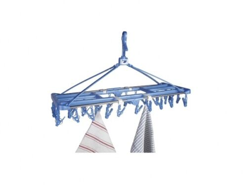 CAMPING HOME HANGING CLOTHES PEG DRYER AIRER HANGER for tent  caravan