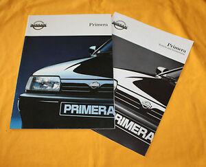 Nissan-Primera-1992-Prospekt-Brochure-Depliant-Prospetto-Folder-Prospect