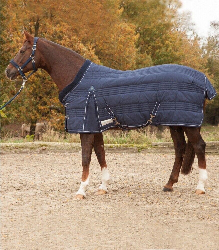 Stalldecke Comfort line 200g Waldhausen Horse fashion noche azul Nuevo