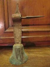 ancienne cloche en bronze 19 eme de portail