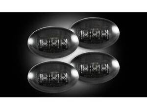 Recon Smoked LED Dually Fender Lights 1999-2010 Ford F350 Super Duty 264132BK
