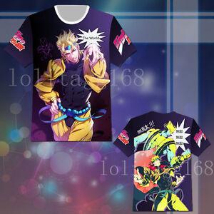 Image Is Loading Anime JOJO Bizarre Adventure Dio Brando T Shirt