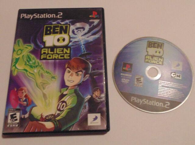 Ben 10 Alien Force (Sony PlayStation 2, 2008) ps2