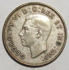 1946 CANADA HALF DOLLAR  50 cents  Nice Higher Grade CIRC     #9  A-14